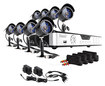 Zmodo - 8-Channel, 8-Camera Indoor/Outdoor Security System - Black