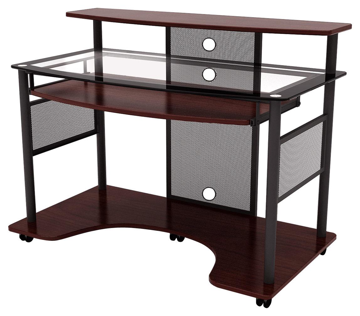 Z-line Designs - Cyrus Computer Desk - Cherry/black