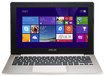 "Asus - 11.6"" Touch-Screen Laptop - Intel Pentium - 4GB Memory - 500GB Hard Drive - Champagne"