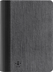 "Belkin - Chambray Cover for Kindle HDX 7"" - Dark Gray/Blacktop"