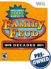 Family Feud: Decades — PRE-OWNED - Nintendo Wii