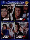 4 Film Favorites: Lethal Weapon [4 Discs] (Blu-ray Disc)