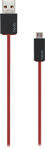 Beats By Dr. Dre - 3' Usb-to-micro Usb Cable - Red