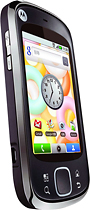 Motorola - Cliq Mobile Phone (Unlocked) - Black