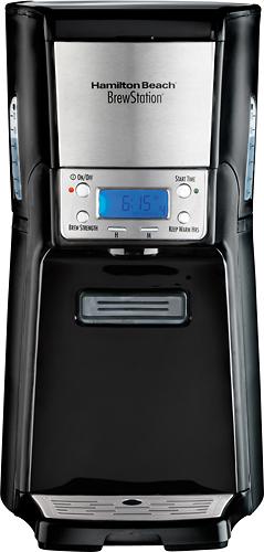 Hamilton Beach - BrewStation 12-Cup Coffeemaker - Black