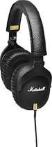 Marshall - Monitor Over-the-Ear Headphones - Black