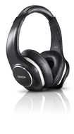 Denon - Music Maniac On-Ear Headphones - Black/Pearlized White