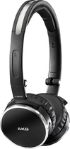 AKG - Over-the-Ear Headphones - Black/Silver