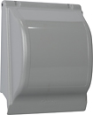 Russound - Double Gang Thermoplastic Cover - Gray