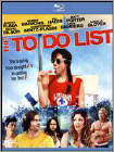 The To Do List (Ultraviolet Digital Copy) (Blu-ray Disc) 2013