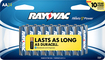 Rayovac - AA Batteries (24-Pack) - Silver/Blue