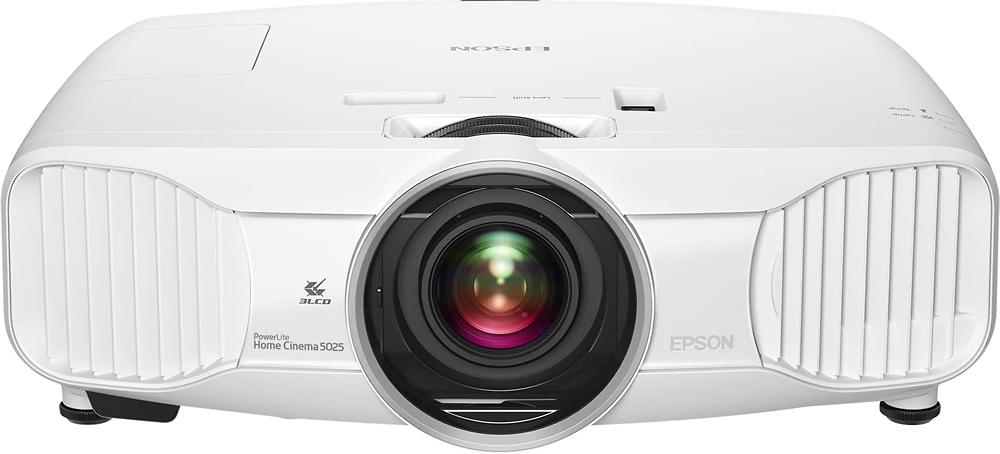 Epson - Home Cinema 5025UB 2D/3D 1080p 3LCD Projector - White/Black