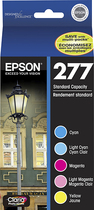 Epson - 277 3-Pack Ink Cartridges - Cyan/Magenta/Yellow
