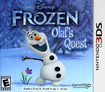 Disney Frozen: Olaf's Quest - Nintendo 3DS