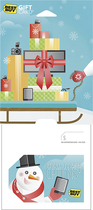 Best Buy GC - $30 Snow Many Options Gift Card