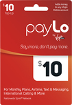 PayLo by Virgin Mobile - $10 PayLo Top-Up Card