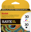 Kodak - 30 Ink Cartridge for Select Kodak Printers Combo Pack - Cyan, Magenta, Yellow, Black