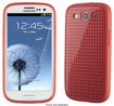 Speck - PixelSkin HD Case for Samsung Galaxy S III Cell Phones - Coral