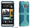 Speck - CandyShell Grip Case for HTC One Cell Phones - Pool Blue/Deep Sea Blue
