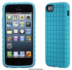 Speck - PixelSkin Case for Apple® iPhone® 5 and 5s - Blue
