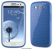 Speck - PixelSkin HD Case for Samsung Galaxy S III Cell Phones - Cobalt