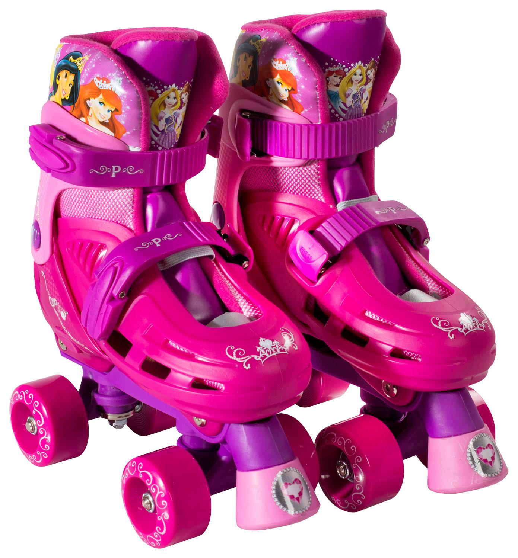 Bravo Sports - Disney Princess Kids' Quad Roller Skates - Pink