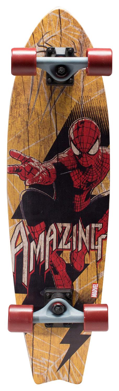 Bravo Sports - Spider-Man Longboard - Red