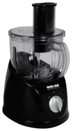 Better Chef - HealthPro 6-Cup Food Processor - Black