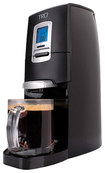 Tru - Single-serve Coffeemaker - Black/silver 2392159