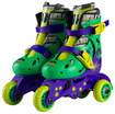 Bravo Sports - Teenage Mutant Ninja Turtles Kids' Convertible 2-in-1 Skates - Black