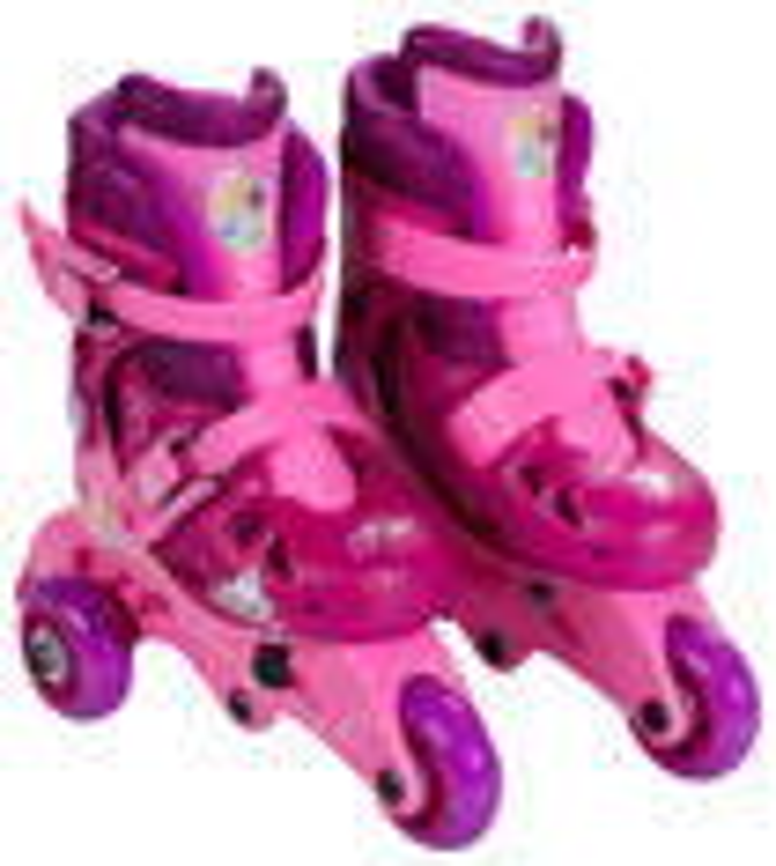 Bravo Sports - Disney Princess Kids' Convertible 2-in-1 Skates - Purple