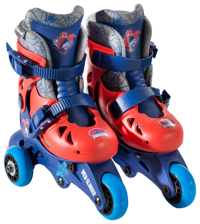 Bravo Sports - Spider-Man Kids' Convertible 2-in-1 Skates - Yellow