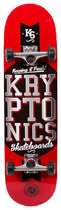 Bravo Sports - Kryptonics Star Skateboard - Red