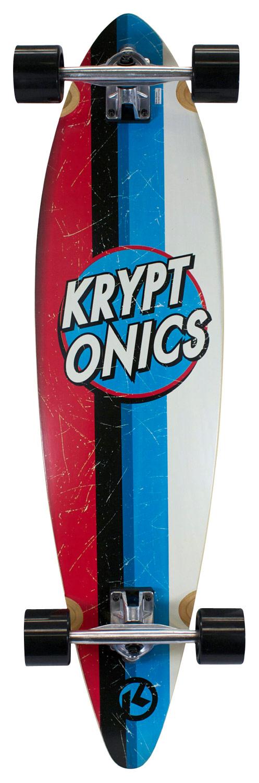 Bravo Sports - Kryptonics Longboard - Light Wood