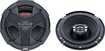 "JVC - 6-1/2"" 2-Way Car Speakers with Carbon Mica Cones (Pair) - Black"