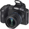 Samsung - Galaxy NX Mirrorless Camera with 18-55mm Lens - Black