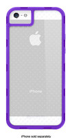 X-Doria - Defense 720° Case for Apple® iPhone® 5 and 5s - Purple/Clear