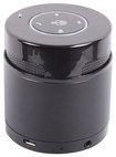 Tosa - Cylinder Bluetooth Speaker - Black
