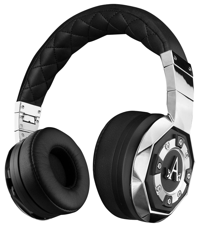A-Audio - Lyric On-Ear Headphones - Black/Silver