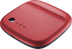 Seagate - Wireless Mobile Storage 500GB External USB Portable Hard Drive - Red