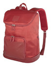 "Francine Collections - Tribeca Laptop Backpack for 15"" - 17"" Apple® MacBook® Pro - Red/Beige"