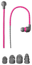 X-1 Audio - Women's Momentum Custom Sweatproof Earbud Headphones - Pink