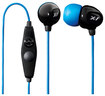 X-1 Audio - Surge Contact Waterproof Earbud Headphones - Blue