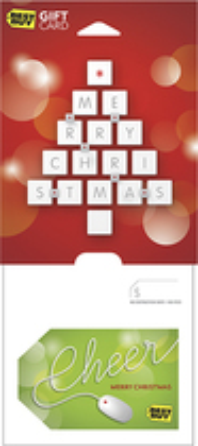 Best Buy GC - $200 Cheer - Merry Christmas Gift Card