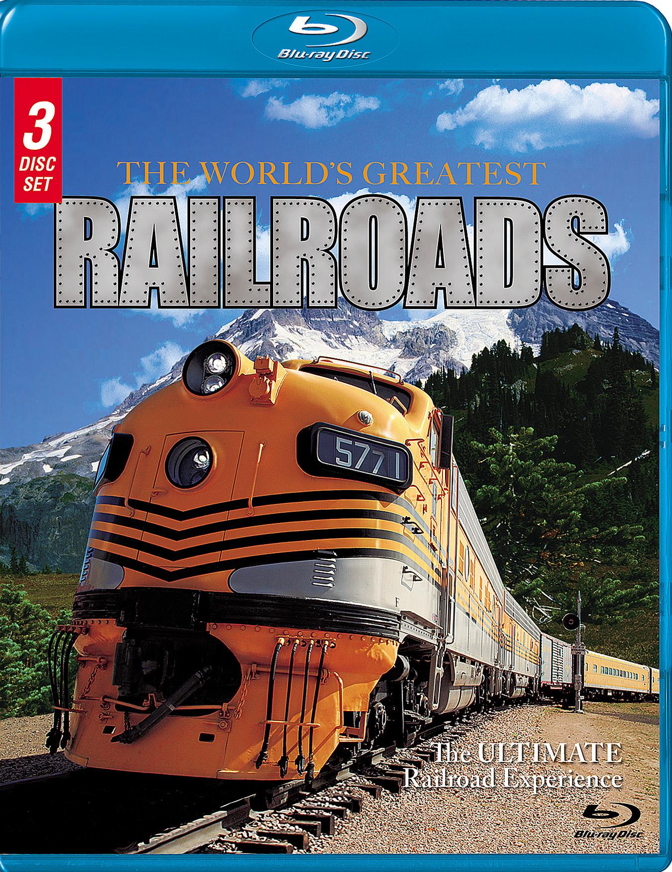 The World's Greatest Railroads [3 Discs] (blu-ray) 24652164