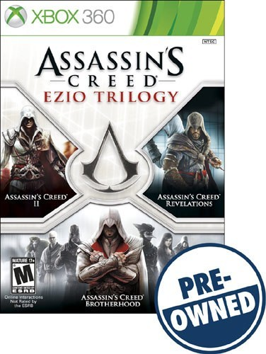 Assassin's Creed Ezio Trilogy - PRE-Owned - Xbox 360