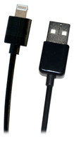Symtek - TekPower 10' Extended USB Charge/Sync Cable with Apple® Lightning Connector