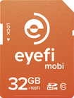 Eye-Fi - Mobi 32GB SD Class 10 Memory Card - Orange