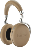 Parrot - Zik 2.0 Over-the-Ear Wireless Bluetooth Headphones - Mocha