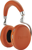 Parrot - Zik 2.0 Over-the-Ear Wireless Bluetooth Headphones - Orange